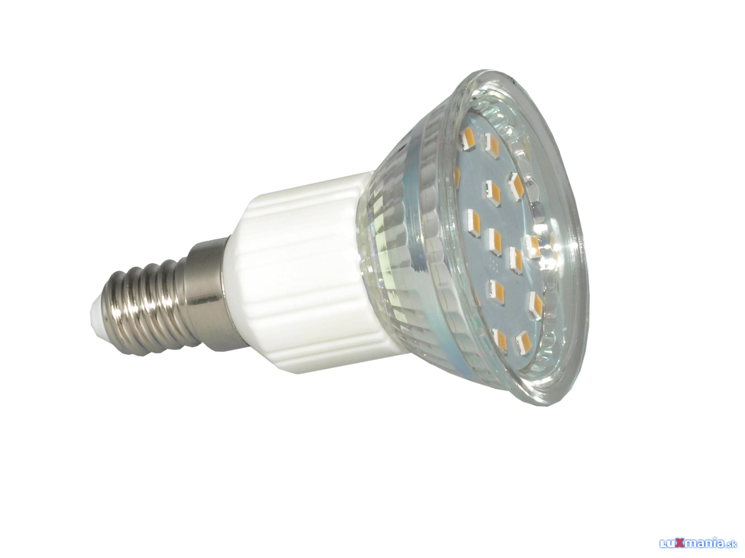 ARGUS LIGHT LED - E14 - 4,0W - 350lm - WW-teplá