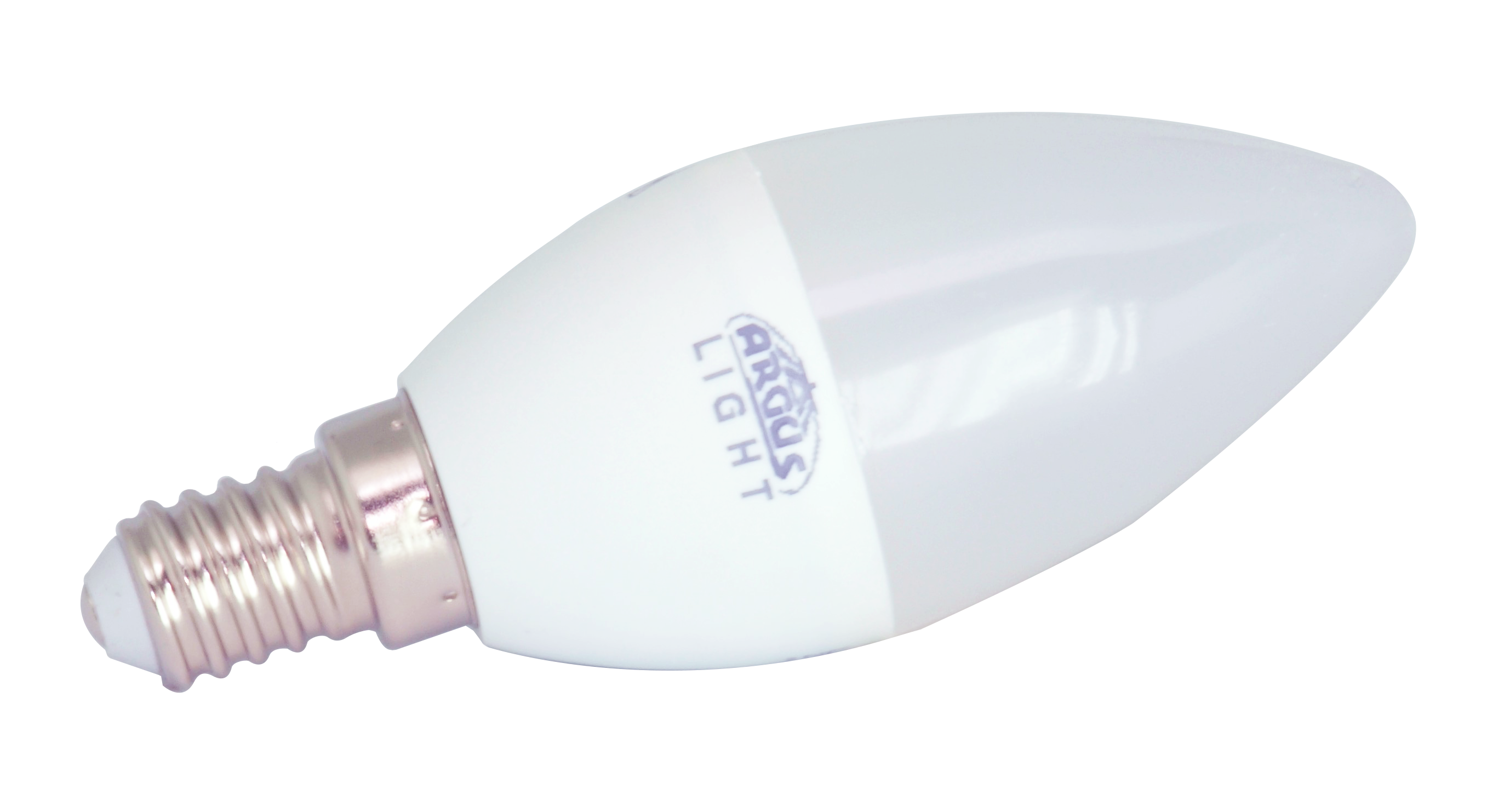 ARGUS LIGHT LED - E14 - C37 - 5,5W - 470lm - WW-teplá
